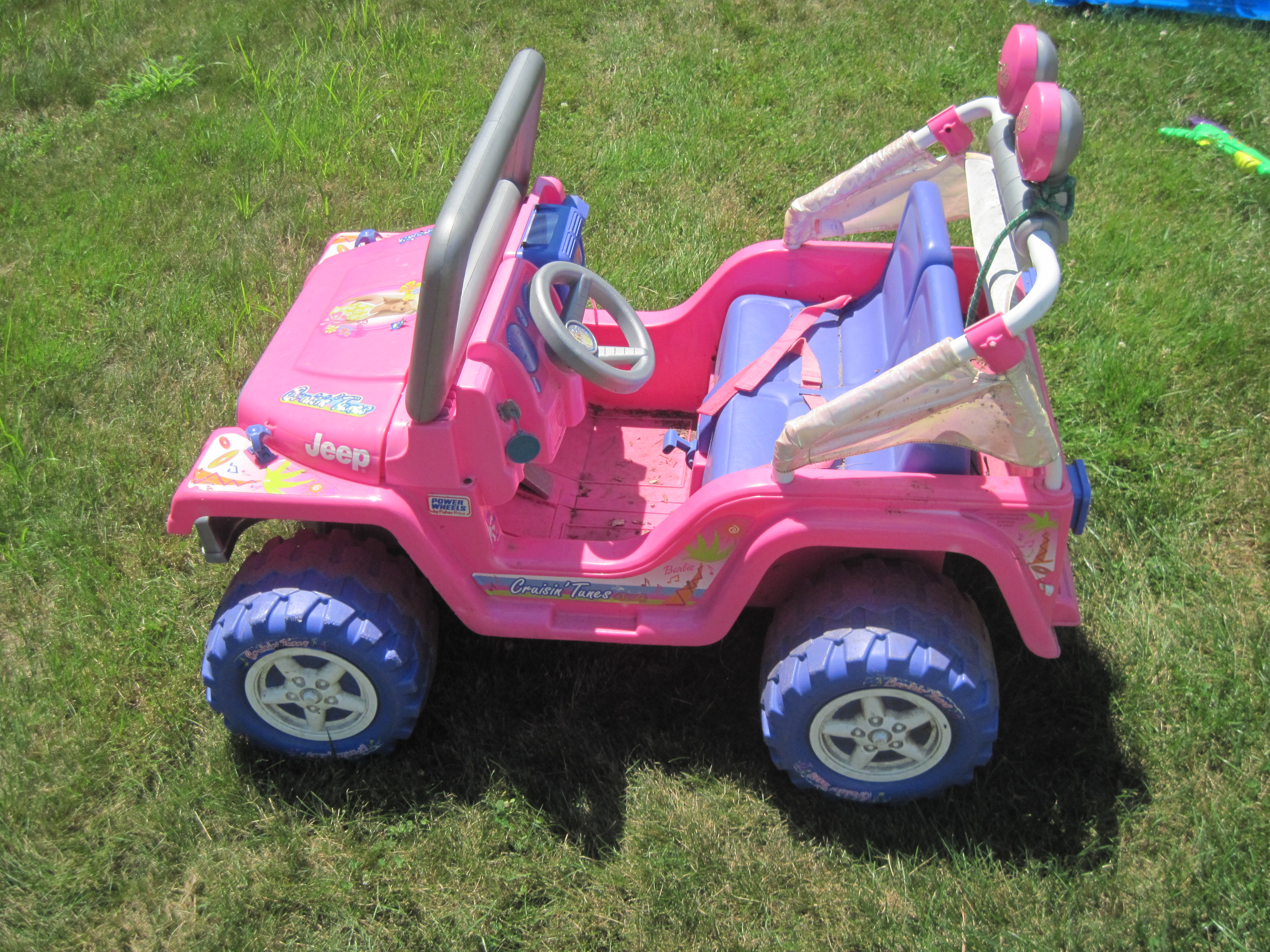 Power wheels jeep robot